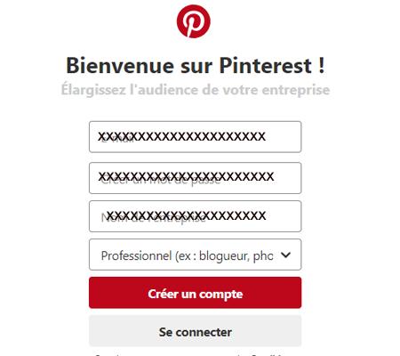 Pinterest site gratuit