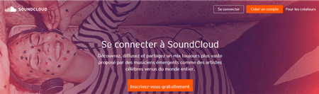 Soundcloud français inscription