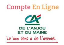 consulter CA Anjou Maine Comptes en ligne