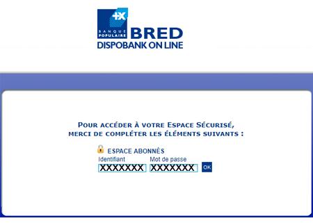 www.dispobank.fr espace abonnés