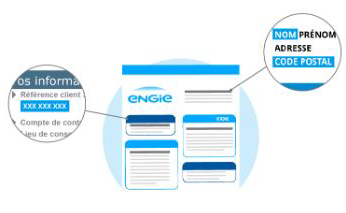 reference client facture engie