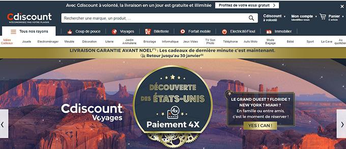 cdiscount vente en ligne