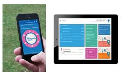 Inscription ameli.fr via application mobile