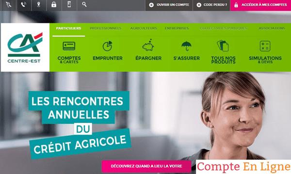 site caisse régionale : sitewww.ca-centrest.fr