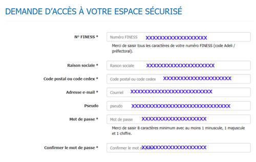 Identification à mercer.net espace client