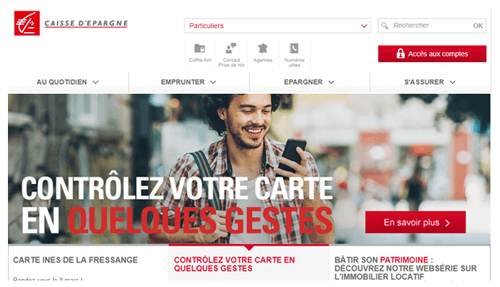 www.caisse-epargne.fr compte