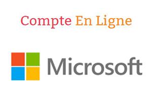 ouverture compte Microsoft Windows