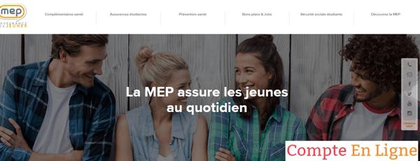www.mep.fr : site de l'assureur étudiant