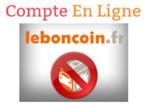 Supprimer un compte leboncoin