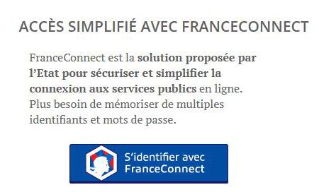 agirc arrco connexion FranceConnect