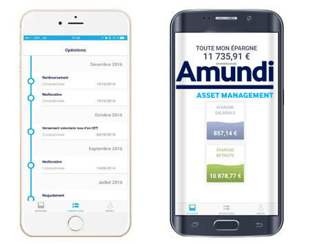 amundi application mobile