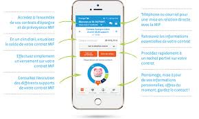 application mobile Mif assurance
