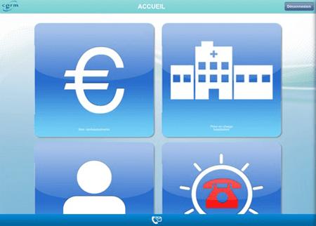 Mutuelle cgrm application