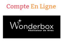 Wonderbox.fr espace personnel