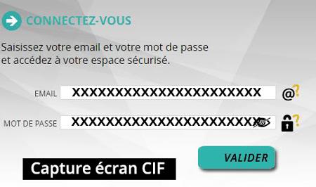 Espace client Crédit Immobilier de France
