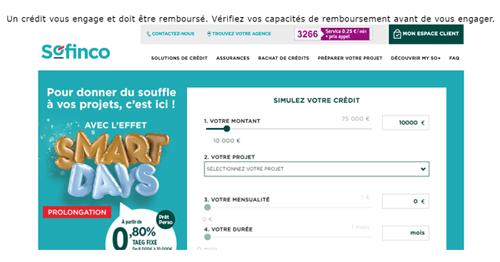 www.sofinco.fr compte