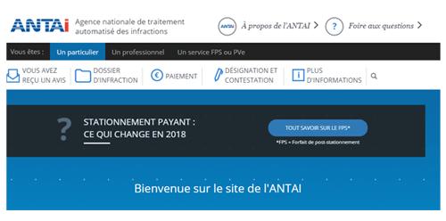 Consulter mon dossier sur antai.gouv.fr