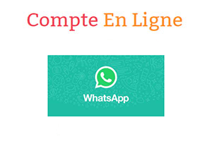 Créer un compte whatsapp gratuit