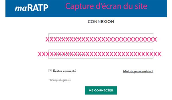 Accès maratp.ratp.fr