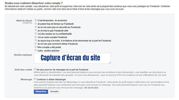 compte facebook verouille temporairement