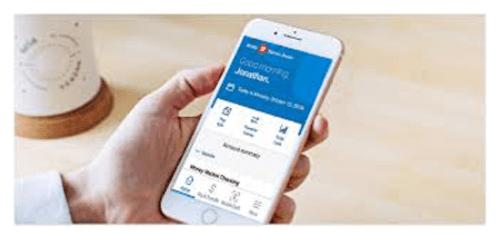 Se connecter sur l'application bmo mobile
