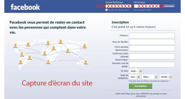 Récupérer un compte Facebook