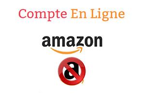 Résilier un compte Amazon