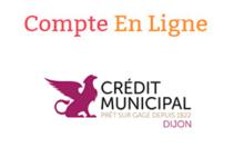 Accès compte Crédit Municipal Dijon