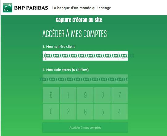 accéder à mon compte en ligne particulier bnp paribas