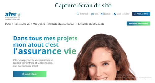 www.afer.asso.fr accès à mon compte