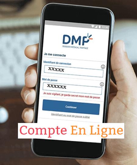 accéder à mon compte dmp.fr