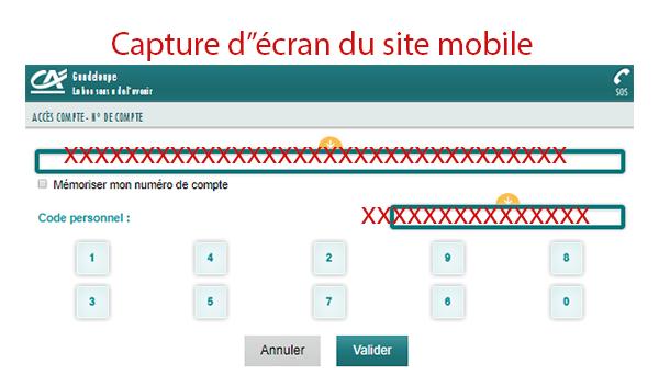 Mon espace m.ca-guadeloupe.fr en ligne