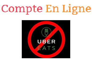 Uber eat supprimer compte