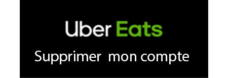 Clôturer un compte uber eats