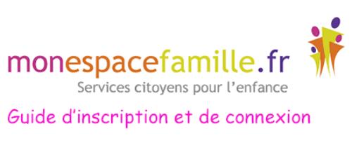Mon espace famille en ligne