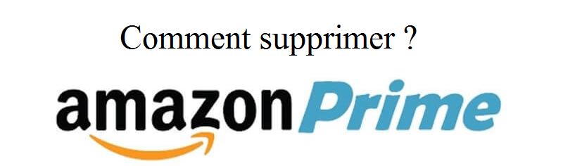 supprimer amazon prime