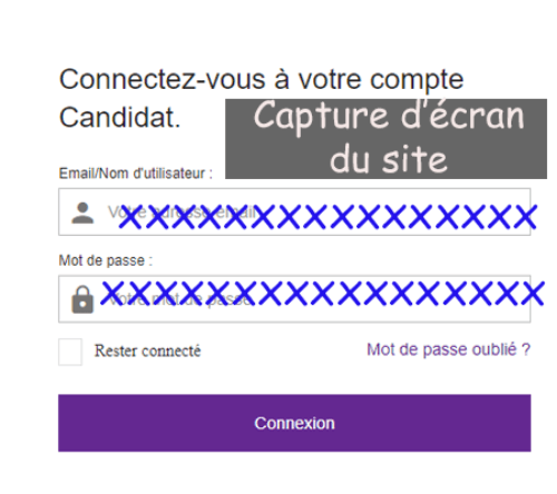 Connexion candidat monster