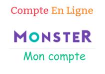 Monster se connecter