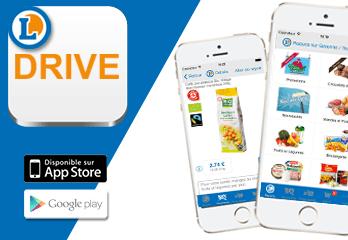 Application mobile e.leclerc drive