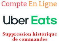 historique Uber Eats