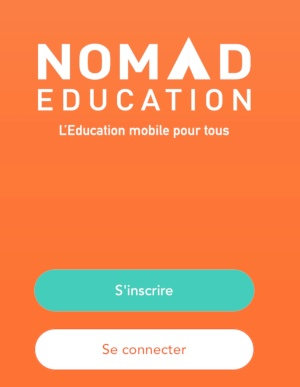 inscription nomad education