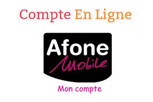 Consulter le compte Afone mobile