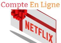 comment utiliser une carte cadeau netflix ?