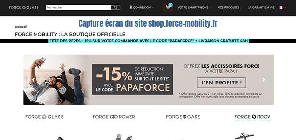 force glass-mobility-boutique officielle