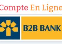 connexion à mon compte en ligne B2B Banque