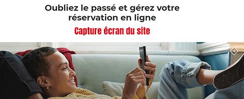 gestion reservation tap en ligne