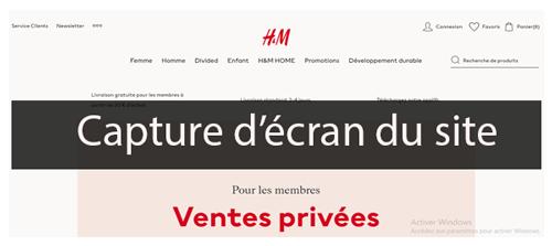 Suivre commande h&m en ligne