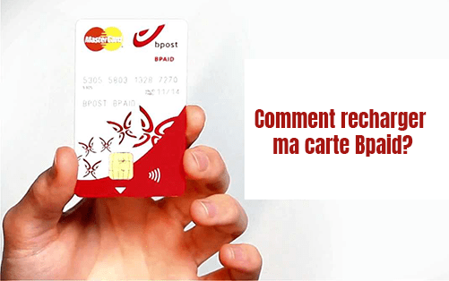 comment charger ma carte bpaid?