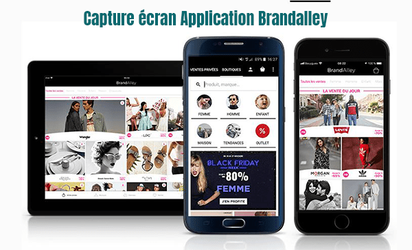 application mobile brandalley