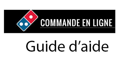 Commander domino's pizza en ligne